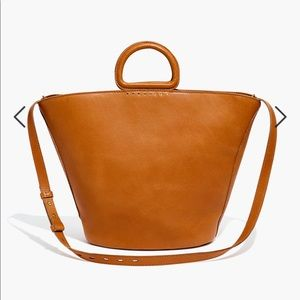 madewell westport tote burnished copper BNWT